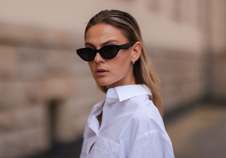 7 letnich stylizacji z białą koszulą w roli głównej - jak robią to znane blogerki modowe